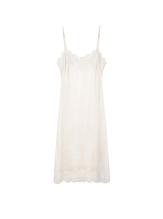 Lace Cami One Piece in White_VW8SO0440