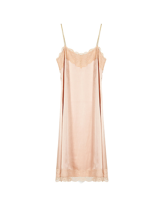 Lace Cami One Piece in Pink_VW8SO0440