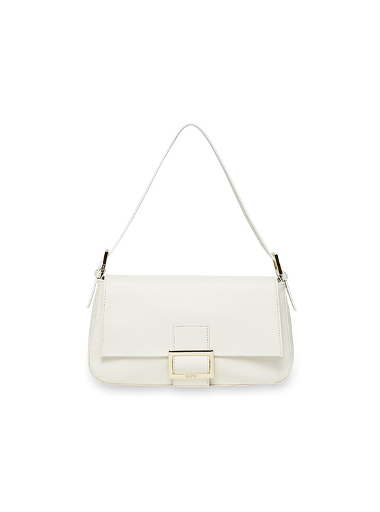 Real Leather Luke Bag in White_VX0SG0830
