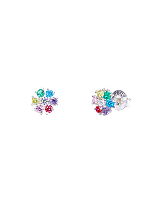 Shining Daisy Earrings in Multi_VX0MX0610