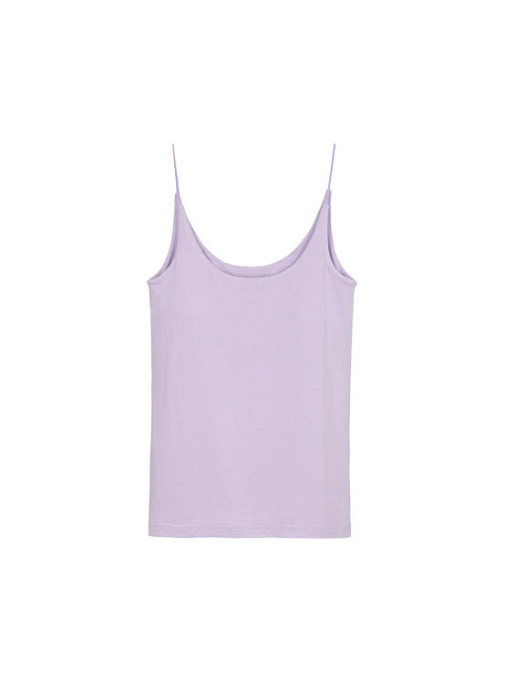 Color Strap Sleeveless Top in L/Purple_VW0ME1600