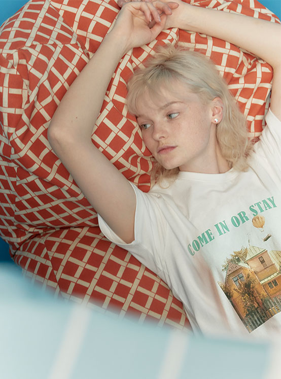 X PIPPI House Tee in White_VW0ME1820