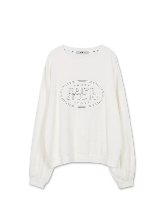 Embroidery Waffle MTM in White_VW0AE1430