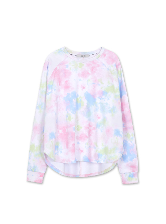 Tie Dyed Raglan MTM in Multi_VW0AE1450