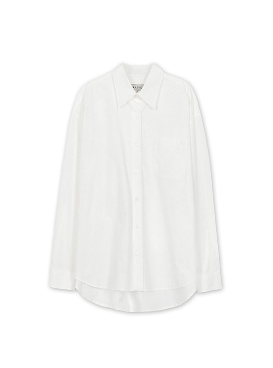 Light Oversized Shirt in White_VW0AB1770