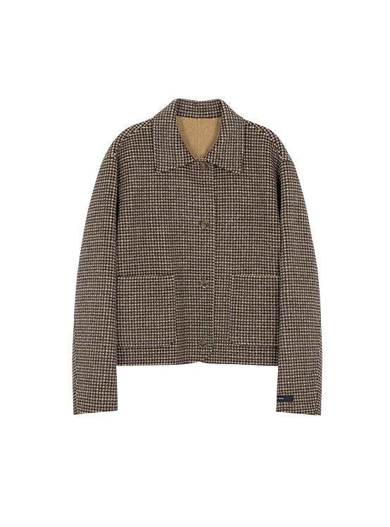 Hairy Reversible Handmade Jacket in Brown_VW0AH1650